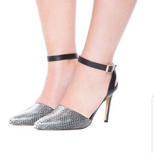 Eloquii Camilla Ankle Wrap Pump